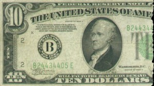1934 10 Dollar Federal Reserve Note